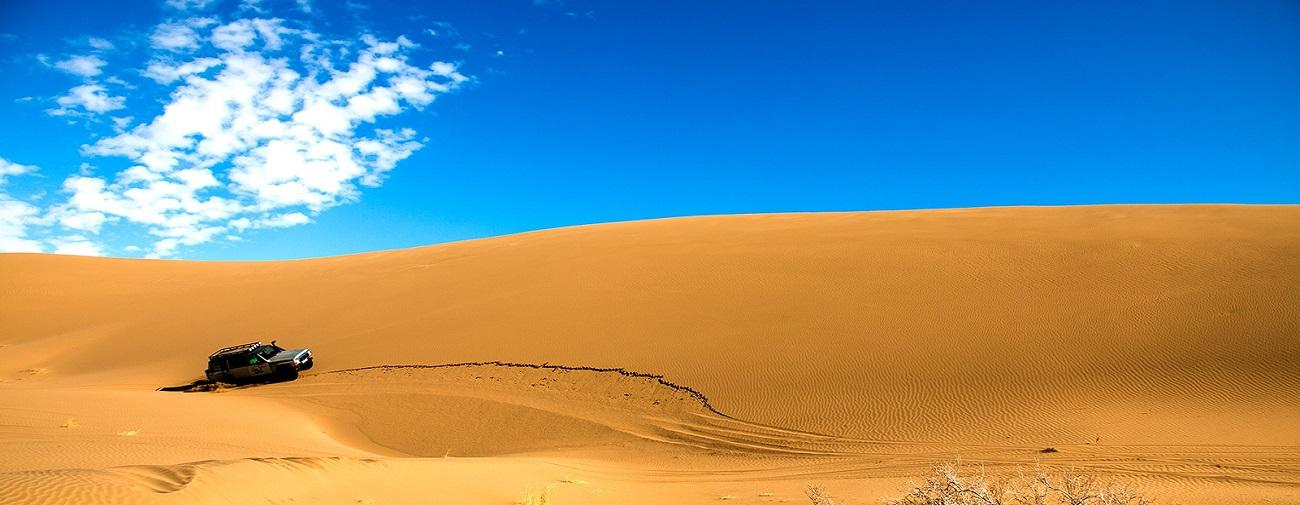 Iran desert camp