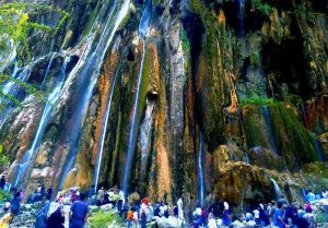 Margoon Waterfall - Iran Nature and villages