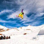 Winter in Iran - Tochal snowboarding